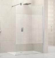 Paroi de douche fixe lunes h 120cm