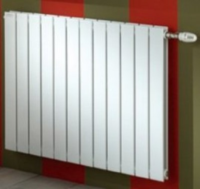 Radiateur FASSANE horizontal blanc eau chaude ACOVA