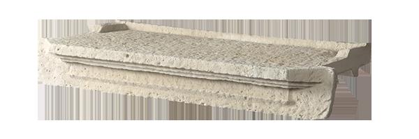 Appui de fen tre moulur ton pierre 60cm orsolsai saint for Peinture appui de fenetre ton pierre