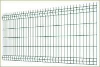 Panneau grillage rigide brico Hercules plus gris 1230x2500x2500mm maille 100x55mm fil 4.0 galva plastifié MOREDA