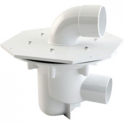 Kit siphon PMR horizontale NICOLL