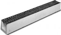 DRAINECO 90 béton + grille galvanisé 1m longueur