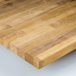 Plan de travail lamell coll ch ne les bois profiles for Plan de travail bois chene