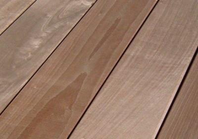 Lame de terrasse ipé fixation visible 21x145mm, longueur 3,70m