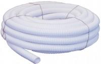 Tube de vidange annelé D40 PVC blanc 20m BASIC SEGMENT