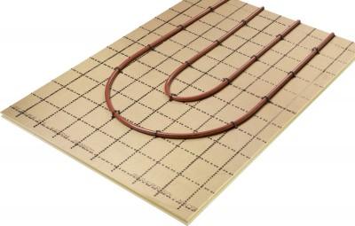 Dalle plane DALPLAN R=2,20 épaisseur 70mm REHAU CHAUFFAGE