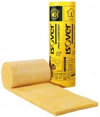 Rouleau laine de verre par épaisseur 60mm 1200x90cm R=1,50 ISOVER SAINT GOBAIN