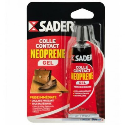 SADER colle contact NEOPRENE gel 500ml BOSTIK