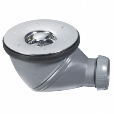 Bonde douche chromé orientable 360° D60 WIRQUIN PLASTIQUES