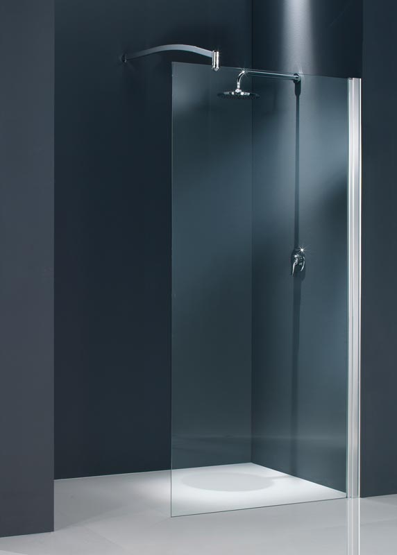 Paroi fixe seule domino 90 cm pas cher promotion for Paroi de douche fixe pas cher