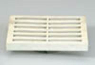 PVC grille de sol 284x284 gris GIRPI