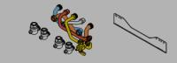 Kit de remplacement iso condensation/cm SAUNIER DUVAL