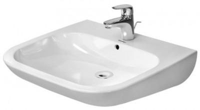 Lavabo 600 D-CODE vital blanc DURAVIT