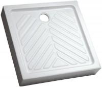 Receveur surélevé PRIMA 80cm extra-plat blanc ALLIA