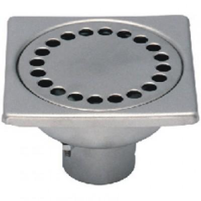 Siphon inox 100x100 diamètre 40 INV LIMATEC