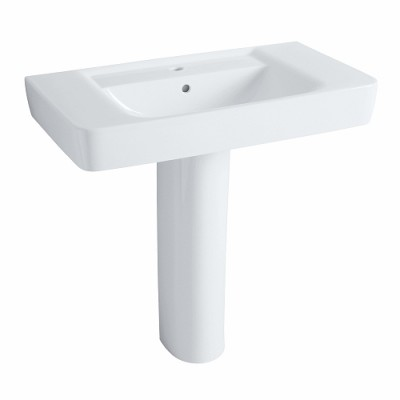 Plan toilette PRIMA 85cm blanc ALLIA