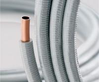 Tube cuivre WICU FLEX isolé 14x1mm couronne de 50m TREFIMETAUX