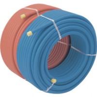 Tube prégainé multi diamètre 20mm bleu REHAU CHAUFFAGE