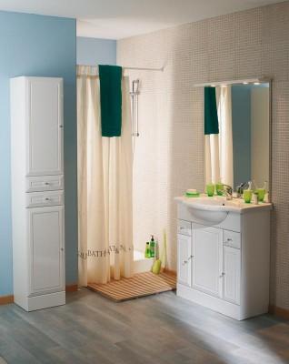 Destock meubles salle de bain pas cher d stockage habitat for Meuble tolede 110
