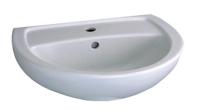 Lavabo BASTIA 60cm blanc réf 00110500000 ALLIA