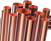 Tube cuivre NF dur 10x1mm barre de 5m TREFIMETAUX