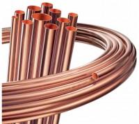 Tube cuivre  SANCO recuit 10X1mm couronnes  50m TREFIMETAUX