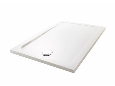 Receveur FLIGHT 100x80cm extra-plat blanc JACOB DELAFON