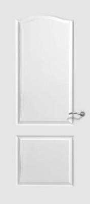 Bloc-porte postformée 1 vantail 2 panneaux CDG PG 2040x930mm pré-peint FONMARTY & FILS S.A.