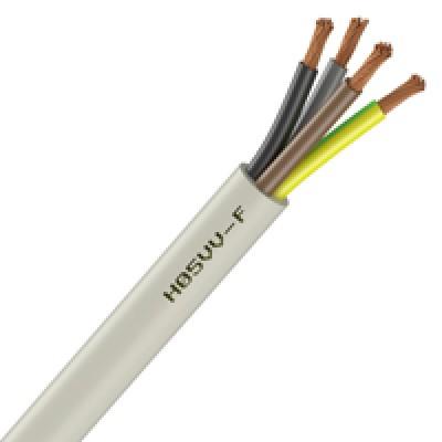 Câble domestique HO5VV-F 3G 1.5mm2 blanc au mètre NEXANS France