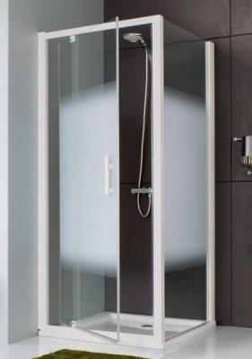 paroi jazz fixe 90 porte pivotante axe excentr pr leda. Black Bedroom Furniture Sets. Home Design Ideas