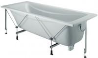 Baignoire ODEON UP 170x75cm acrylique avec châssis blanc JACOB DELAFON