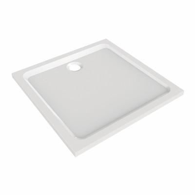 Receveur PRIMA céramique à encastrer 100x100cm ultra-plat antidérapant ALLIA