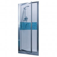 Porte de douche TIPICAPV 080 transparent/argent IDEAL STANDARD