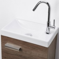 Lave-mains WOODSTOCK 1 porte chêne nebraska 40cm