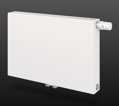 radiateur eau chaude t6 plan 21 horizontal 600x600mm 781w. Black Bedroom Furniture Sets. Home Design Ideas