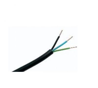 Câble rigide R2V 3G 1,5 noir DEBFLEX