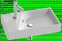 Plan-vasque RYTHMIK 60x37cm blanc JACOB DELAFON