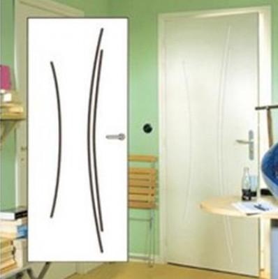 Bloc-porte alvéolaire TH1 Kaori prépeint avec huisserie 90mm Neolys RE S3P 204x73cm poussant gauche RIGHINI SAS