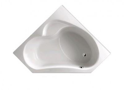 Baignoire BAIN-DOUCHE d'angle 135cm droite blanc JACOB DELAFON