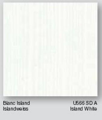 panneau melamin krono cat gorie a u566 blanc island sd 28x2800x2070mm swiss krono group. Black Bedroom Furniture Sets. Home Design Ideas