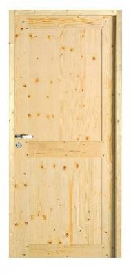 Bloc-porte jonte sapin 204x73cm DP huisserie. 92x45cm DOLT MENUISERIE