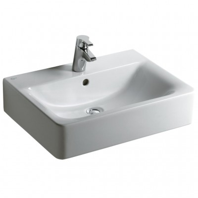Exceptional Lavabo CONNECT Cube 60x46 Blanc IDEAL STANDARD