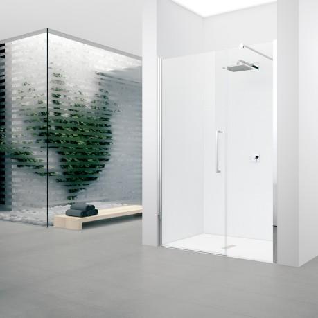 Paroi de douche young f2g fixe 87 vitr blanc novellini roubaix 59100 d - Vitre de douche pas cher ...