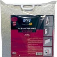 Plaque isolant 2 faces aluminium 04mm GEB