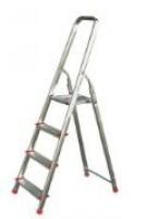 Escabeau QUADRA 60cm aluminium 4 marches 1.49m 150kg