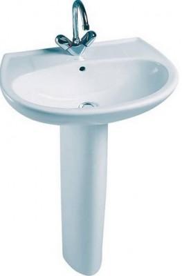 Cache siphon brive pour lavabo blanc JACOB DELAFON