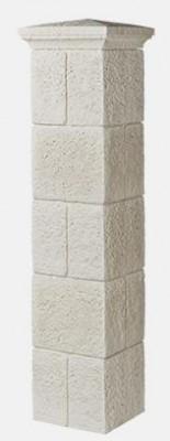 Renaissance 37 palette type 2 piliers ton pierre (10 éléments + 2 dessous chapeau + 2 chapeaux) ORSOL