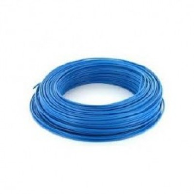 Fil rigide HO7V-R 6mm² bleu 100mm DEBFLEX