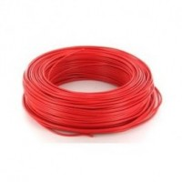 Fil rigide HO7V-R 6mm² rouge 100mm NEXANS