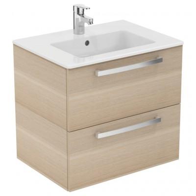 Meuble ulysse 60cm plan 2 tiroirs en bois e3256os ideal for Meuble ulysse